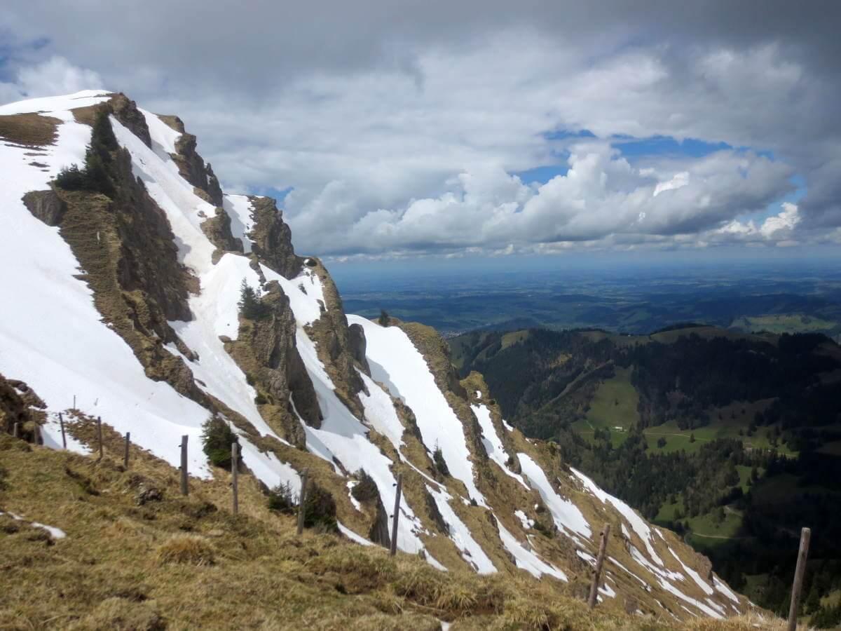 Einmaliges Bergpanorama - der Blick vom Hochgrat