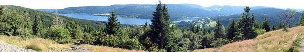 Blick vom Bildstein auf den Schluchsee