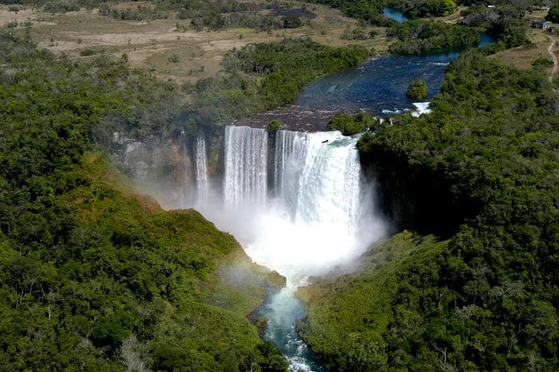 Wasserfälle-Brasilien-Salto-Utiariti
